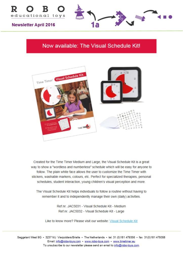 Newsletter April 2016 website