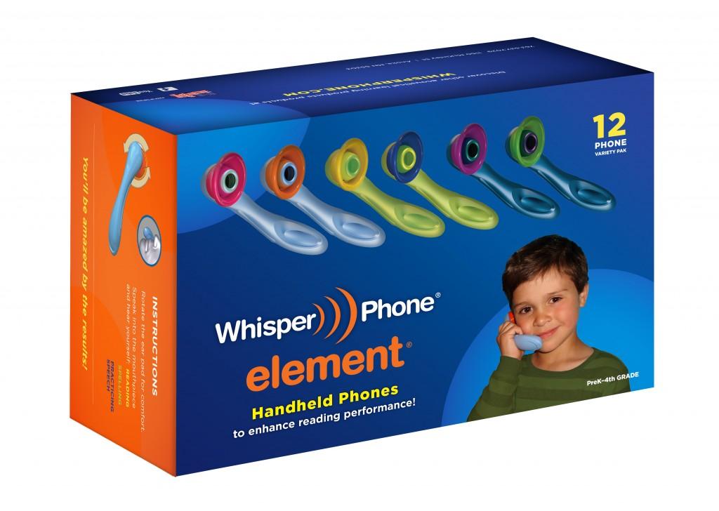 WhisperPhone Variety Pack - box